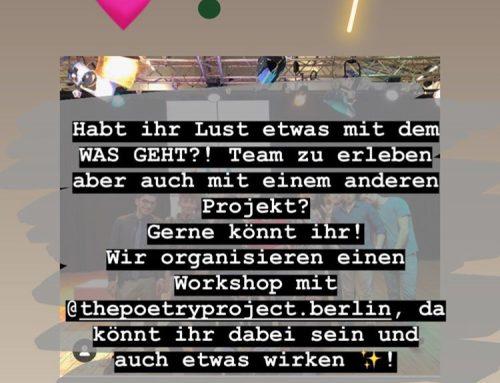 Poetry & experimentelle Fotografie Werkstatt